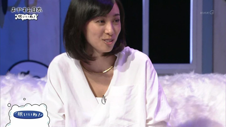 NHK「おやすみ日本」に出演した吹石一恵