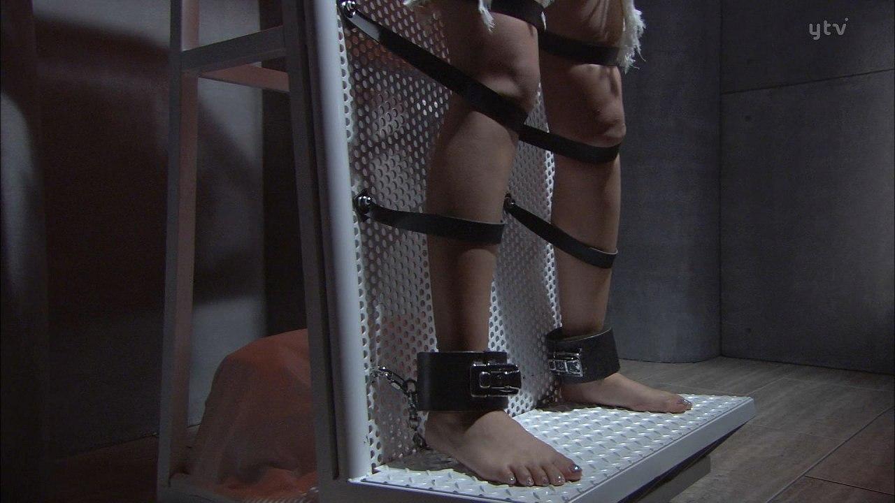 ドラマ「デスノート」、ミサミサの監禁姿