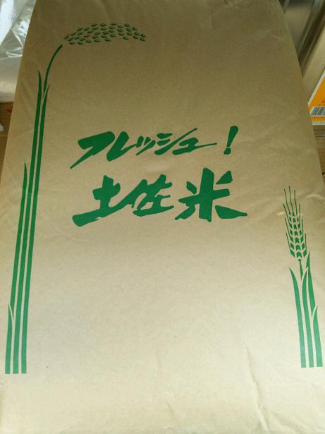 高知ナツヒカリ紙袋