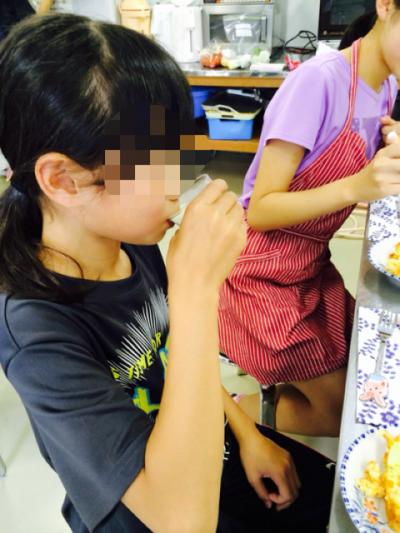 2015.8.18子供料理教室3