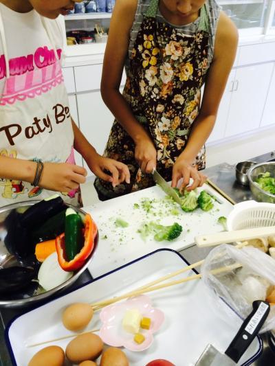 2015.8.18子供料理教室2
