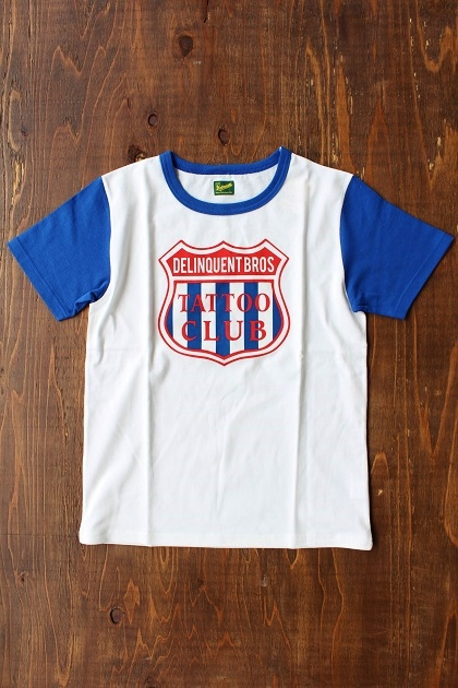Delinquent bros TATTOO CLUB TEE (1)