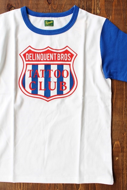 Delinquent bros TATTOO CLUB TEE (2)