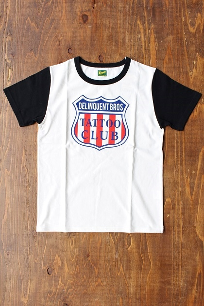 Delinquent bros TATTOO CLUB TEE (8)