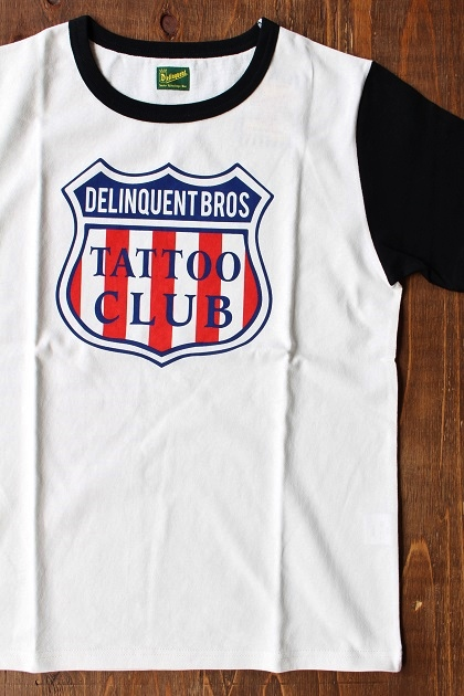Delinquent bros TATTOO CLUB TEE (9)