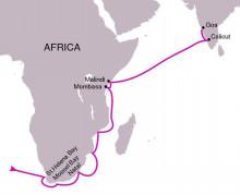 ヴァスコ・ダ・ガマの航路