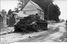 1944年6月13日 - ヴィレル・ボカージュの戦い2