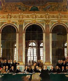 ヴェルサイユ条約調印