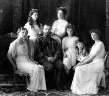 ロシア皇帝一家