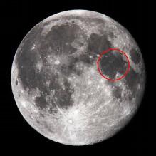 アポロ11号着陸地