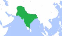 ムガール帝国最大版図