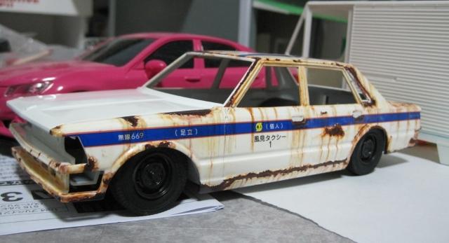 アオシマ 430セダン スタンダード 個人タクシー ホットロッド 東個協