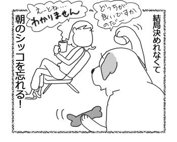 羊の国のラブラドール絵日記シニア!!「エビスの選択」4