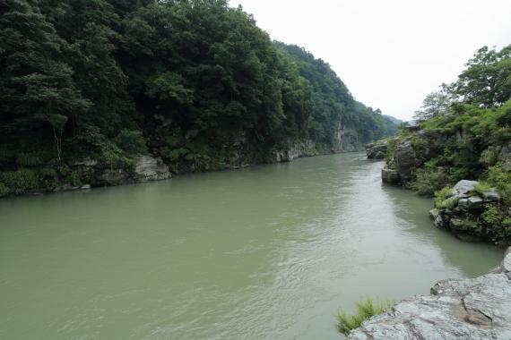 長瀞の荒川ーS