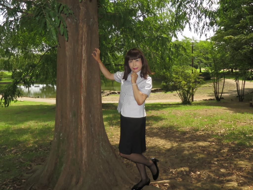 夏のOL服A(1)