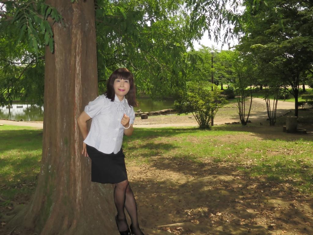 夏のOL服A(4)