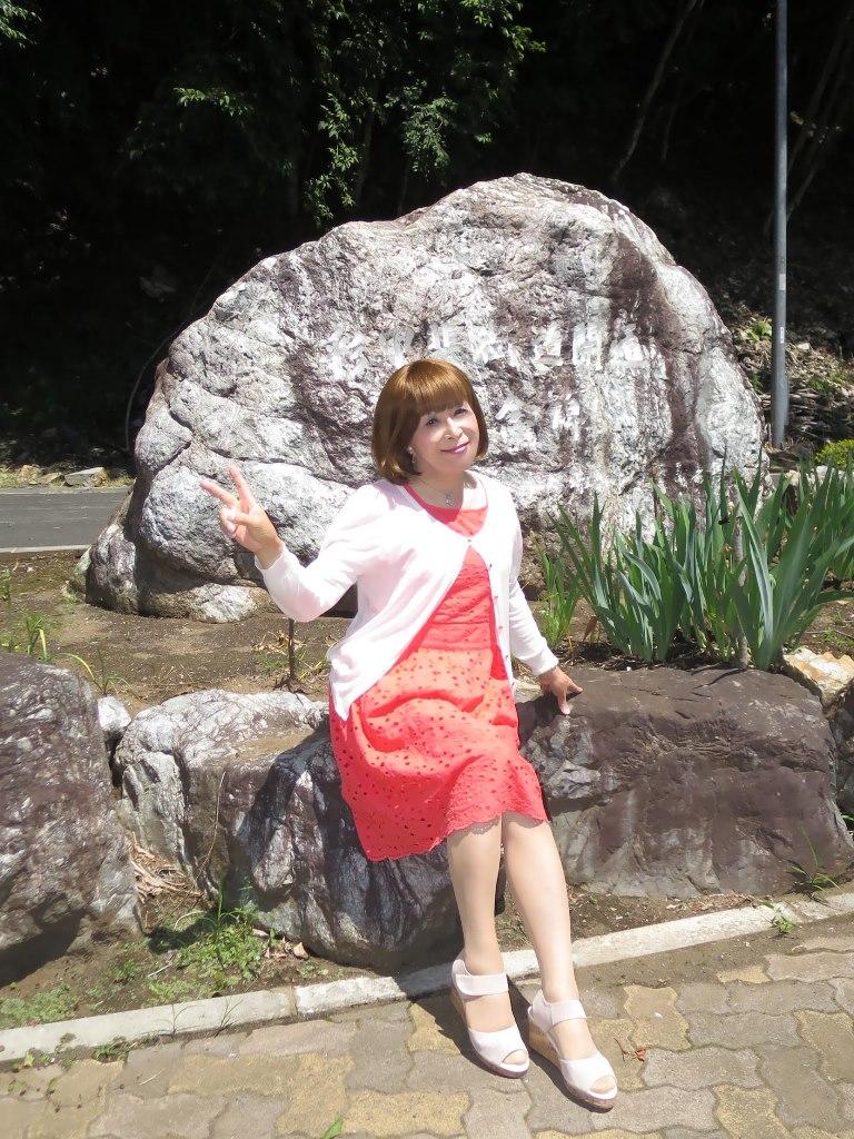 オレンジ夏ワンピA(5)