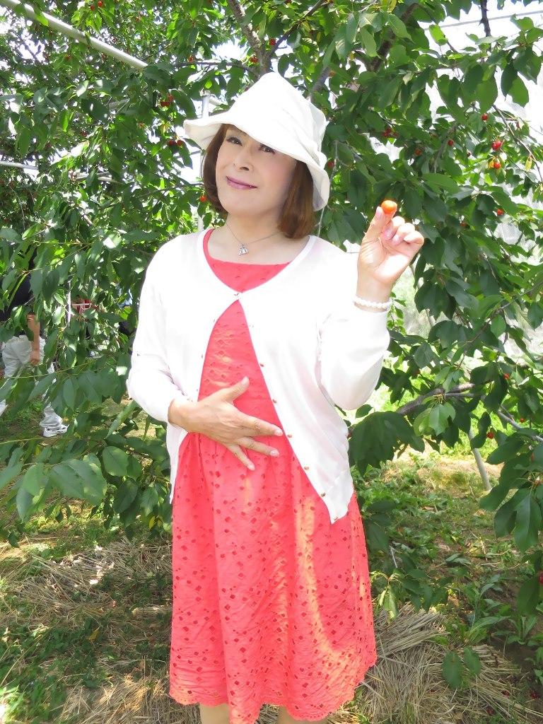 オレンジ夏ワンピB(5)