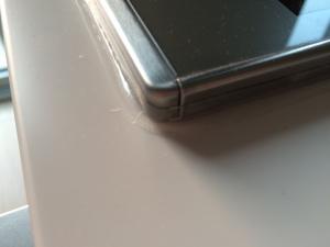 IHと天板の隙間を埋めるテープ