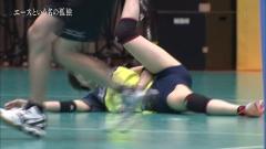 木村沙織選手がドキュメンタリー番組で開脚マン筋くっきりハプニング☆☆☆wwwwwwwwww