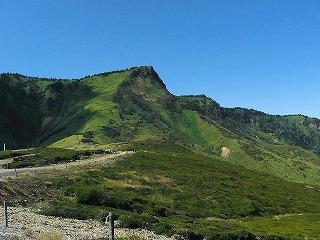 毛無峠から見た破風岳