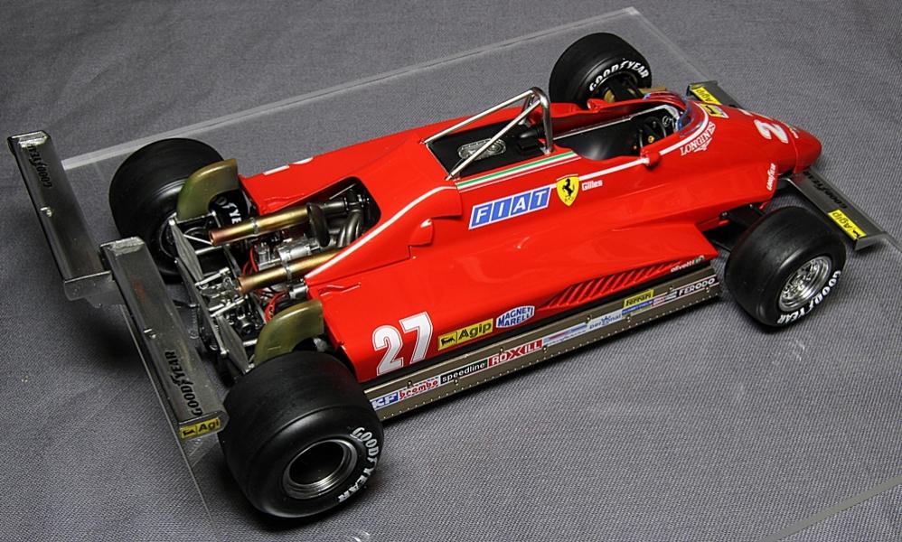フェラーリ 126C2 ロングビーチ-2