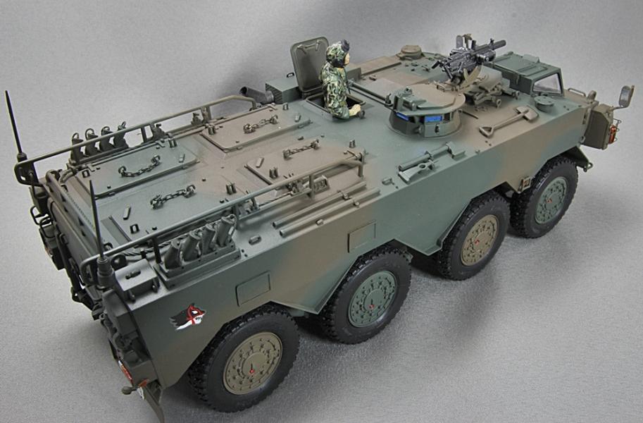 陸上自衛隊 96式装輪装甲車 A型-3