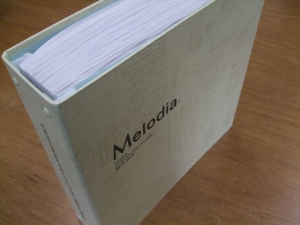 シンコール「Melodia(メロディア)2014-2016」