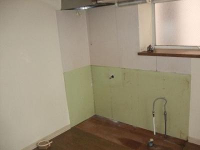 既存のキッチン解体・搬出