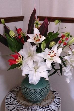 のりちゃんのお花