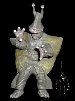 凍結怪獣 ガンダー&ミニ宇宙人 ポール星人