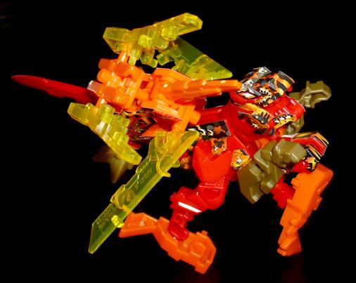 異字元合体 もじバケるZⅡ 無敵バケる(赤+橙)