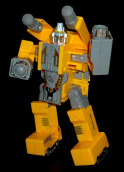 家電英雄 ウォーリア・リフリッジレイター ロボットモード
