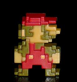 DyDo オリジナル スーパーマリオブラザーズ ドットフィギュアコレクション マリオ
