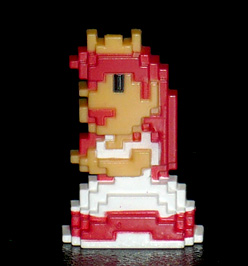 DyDo オリジナル スーパーマリオブラザーズ ドットフィギュアコレクション ピーチ