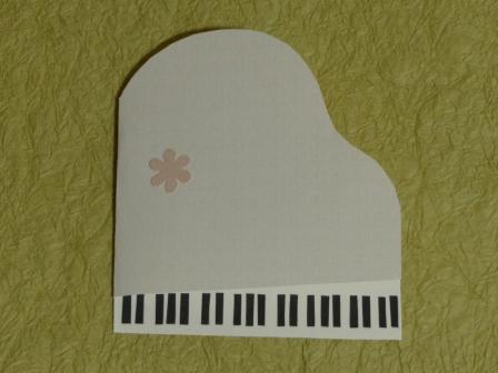 カード ピアノのカード 1