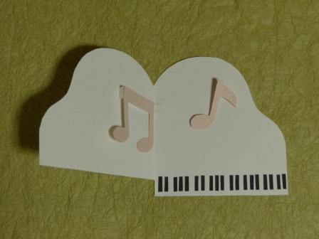 カード ピアノのカード 2