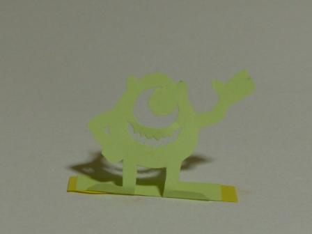 ふせん切り絵 Monsters, Inc.