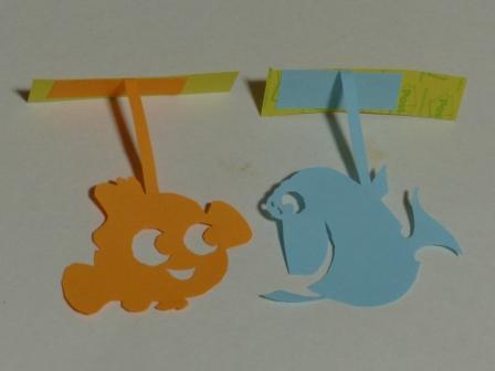 ふせん切り絵 Finding Nemo