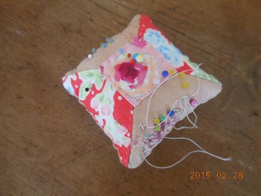 ピンクッション(糸巻きのパターン)
