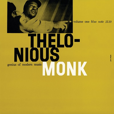 Thelonious Monk Genius Of Modern Music Volume 1 Blue Note BLP 1510