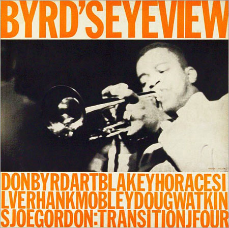 Donald Byrd Byrds Eye View Transition TRLP 4