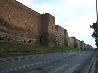 s-アウレリアヌス帝の城壁