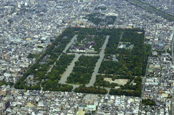 京都御所全景