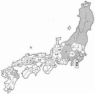 s-幕府と朝廷が実効支配している領地の分布
