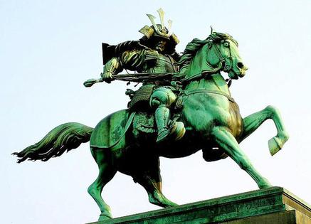 楠木正成公勇士の銅像
