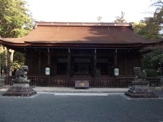 多田神社拝殿