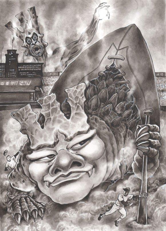 清宮幸太郎の風刺漫画