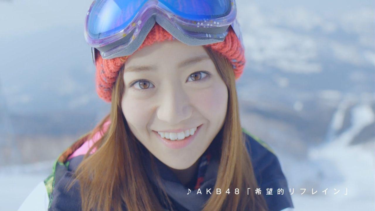 優子スキーCM1