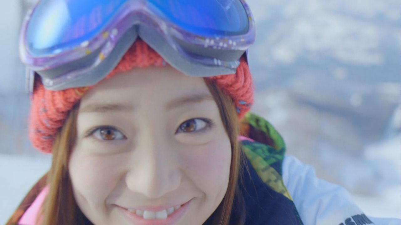 優子スキーCM4